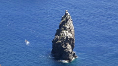 Motu Iti Easter Island, Rapa Nui Stock Footage