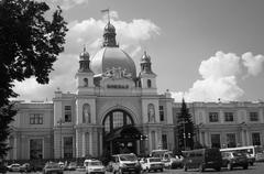 station Lvov - stock photo