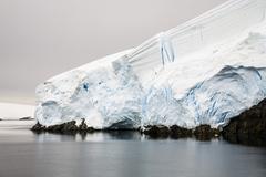Lemaire channel, graham land, antarctic peninsula, antarctica Stock Photos