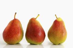 three pears - stock photo