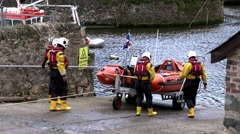 RNLI Team to the Rescue 1 Stock Footage