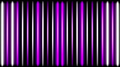 Abstract flashing neon lamps - stock footage