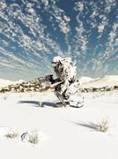 Stock Illustration of Future Soldier, Snow Patrol