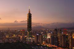 Stock Photo of taipei 101 skyscraper, taiwan, china, asia
