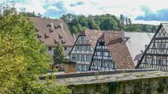 Monastery Maulbronn Germany - stock photo