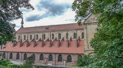 Monastery Maulbronn Germany Church - stock photo