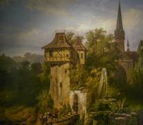 Monastery Maulbronn Germany Painting Stock Photos