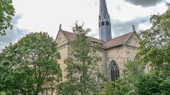 Monastery Maulbronn Germany Church Tower Stock Photos