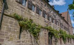 Monastery Maulbronn Germany Defense Wall - stock photo