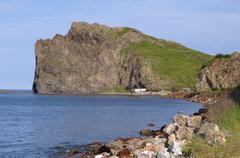 briner's cape, japan sea, primorsky krai, russian federation, far east - stock photo