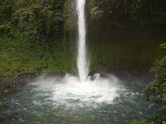Stock Photo of waterfall, la catarata de la fortuna, la fortuna, costa rica, central america