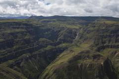 Canyon del sonche near huancas, chachapoyas, amazonas, peru, south america Stock Photos
