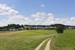 hinterkoenigsschlag, municipality of schenkenfelden, muehlviertel region, upp - stock photo