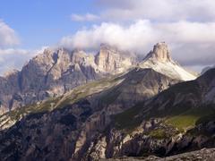 Stock Photo of dolomiti di sesto national park, sexten dolomites, hochpustertal, high puster
