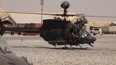 Helicopter Pilots Tennessee National Guard 1st Air Cavalry Squadron Stock Footage