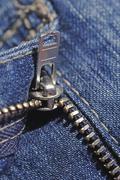 Jeans, zipper Stock Photos