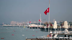 Turkish Coastline - stock footage