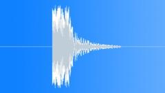 PBFX Dramatic hit deep electronic wood 1260 Sound Effect