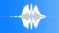 PBFX Sci fi shot whoosh to hit 738 Sound Effect