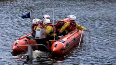 RNLI Team to the Rescue 3 Stock Footage