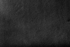 Genuine black leather background, pattern. high resolution. Stock Photos