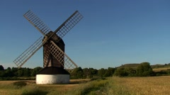 Windmill Old England Stock Footage