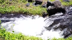 Rocky mountain river Stock Footage