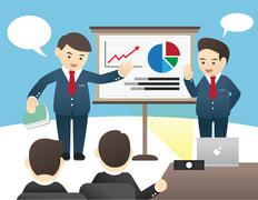 Business Illustration - stock illustration