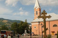 Stock Photo of Rahov, mountains
