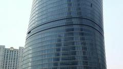 Shanghai Tower in Pudong District, China Stock Footage