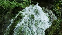 4K Waterfall Lillafured Hungary 4 Stock Footage