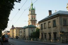 Ukraine, Lviv - stock photo