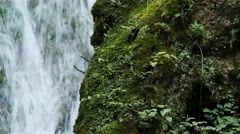 4K Waterfall Lillafured Hungary 8 Stock Footage
