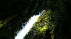4K Waterfall Lillafured Hungary 16 fairy tale Stock Footage