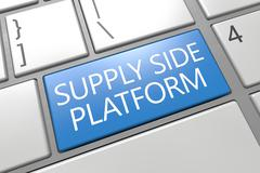 Supply side platform Stock Illustration