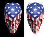 Stock Illustration of American horror v2