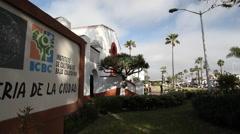 Ensenada Mexico Galeria De La Ciudad Scenic B-Roll with Pan - stock footage