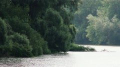 River Tisza in Hungary 5 Stock Footage