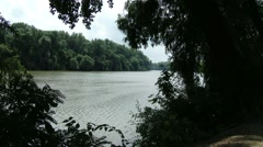 River Tisza in Hungary 6 Stock Footage