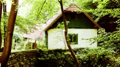 Small Traditional Rural House Lillafured Hungary 2 Stock Footage