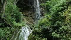 Waterfall Lillafured Hungary 3 Stock Footage
