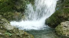 Waterfall Lillafured Hungary 5 Stock Footage