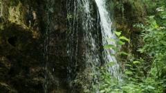 Waterfall Lillafured Hungary 6 Stock Footage