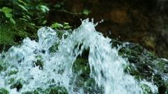 Waterfall Lillafured Hungary 9 Stock Footage
