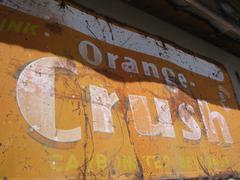 Stock Photo of Rusty Sign