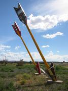 Stock Photo of Twin Arrows