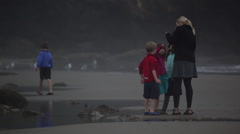 2014 Oregon Coast Vid-072 Stock Footage