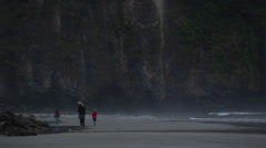 2014 Oregon Coast Vid-073 Stock Footage