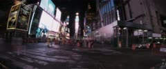 Time Square Timelapse Stock Footage