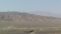 Gobi Desert Gansu China 4 Stock Footage